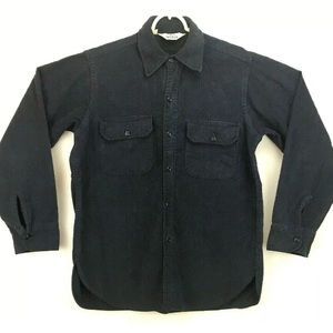Vintage Woolrich Chamois Button Up Shirt USA